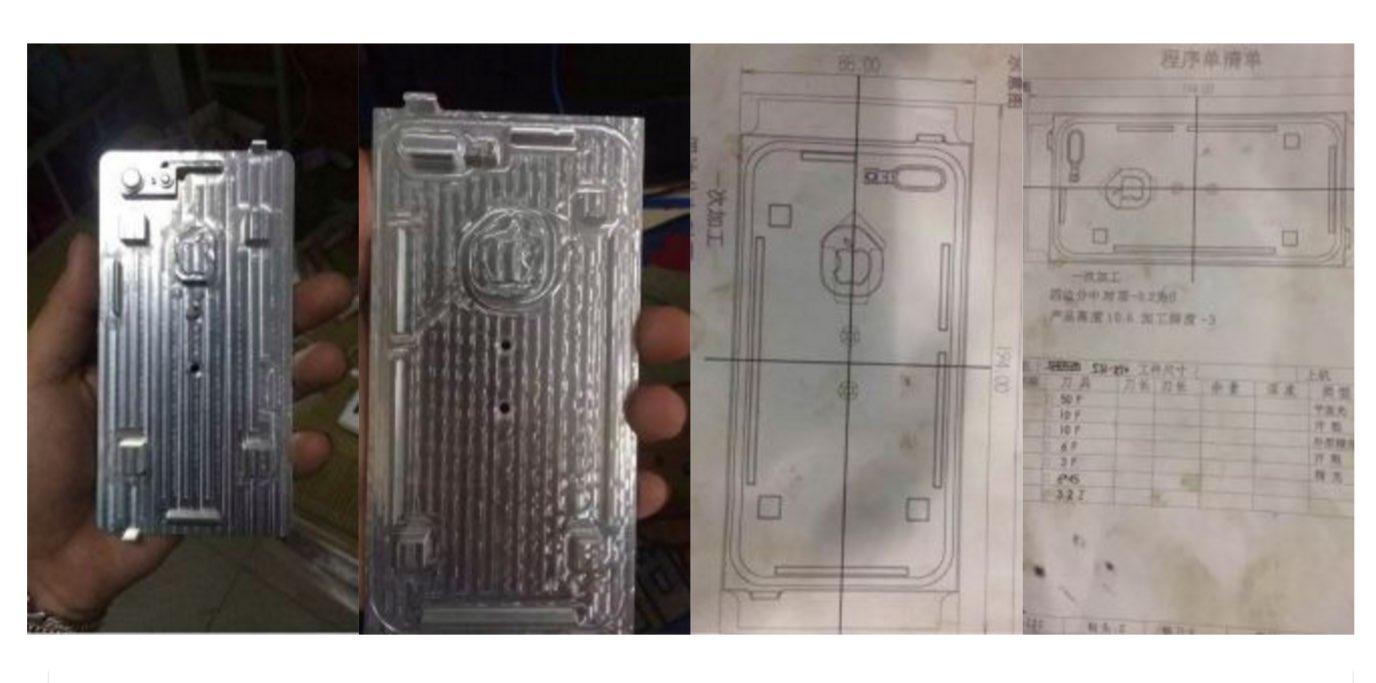 iPhone 7 schematische tekening