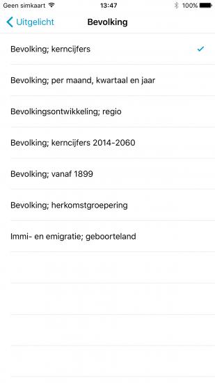 De Staat van Nederland bevolking