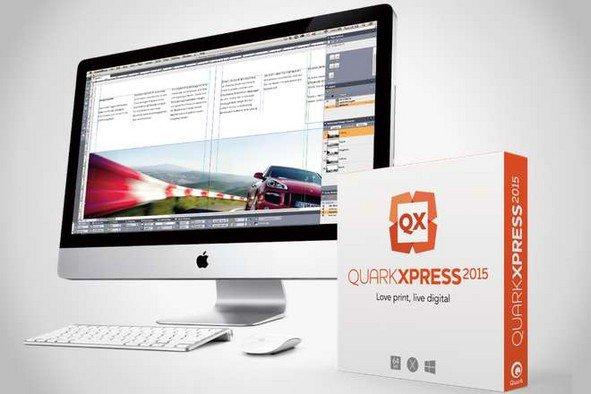 iMac met QuarkXPress