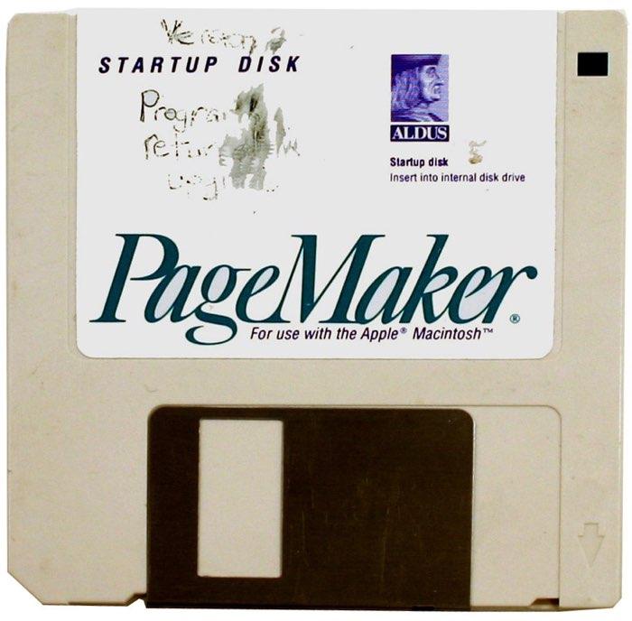 PageMaker diskette