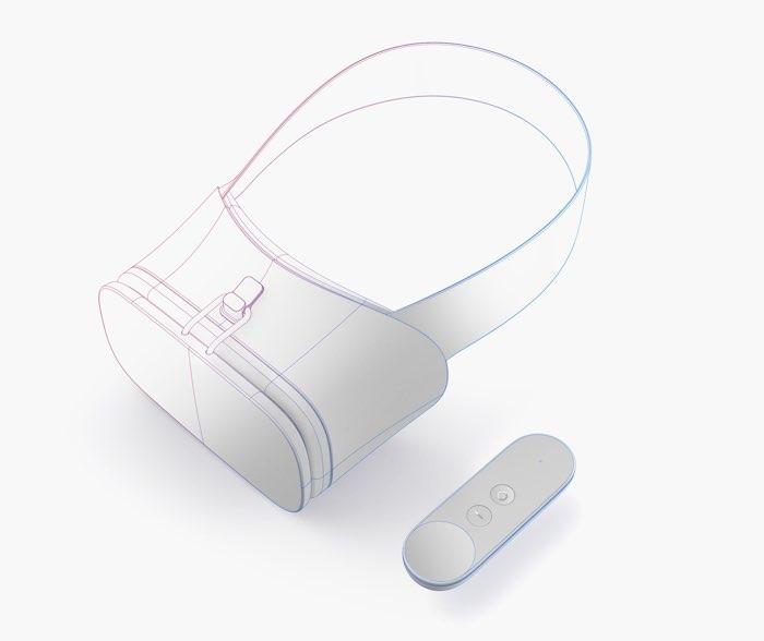 Google Daydream VR-bril