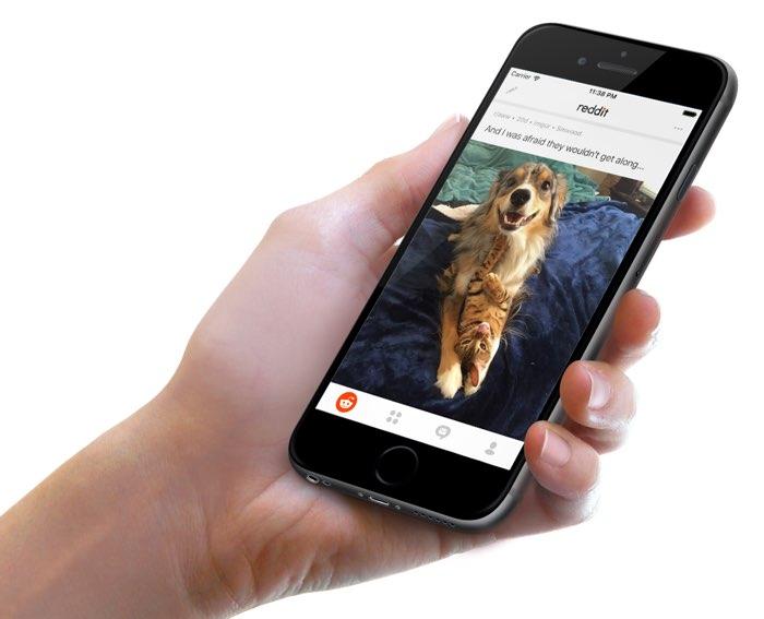 Reddit officiele app Nederlandse App Store