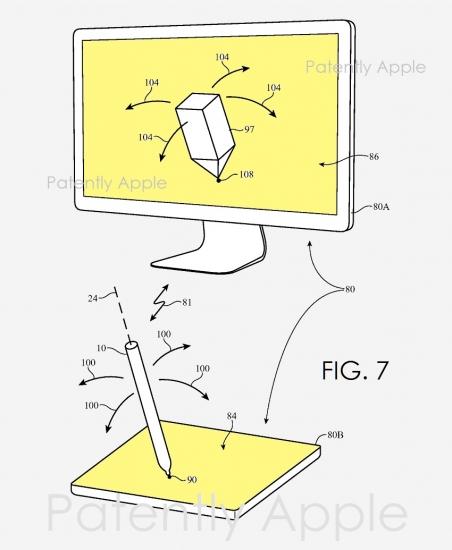 Tekenen op een Mac met een Apple Pencil.