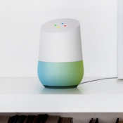 Google Home in blauwgroen