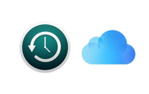 Een backup maken via iCloud.