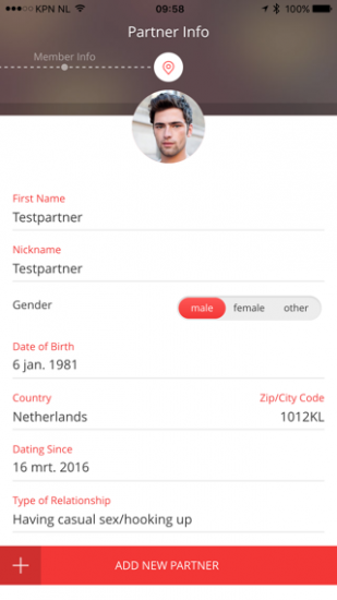 StayGo profiel van je partner