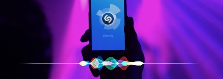 Siri gebruiken met Shazam.