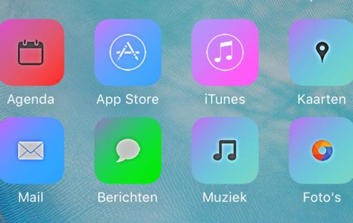 Aangepaste icoontjes op het beginscherm van je iPhone dankzij iSkin.