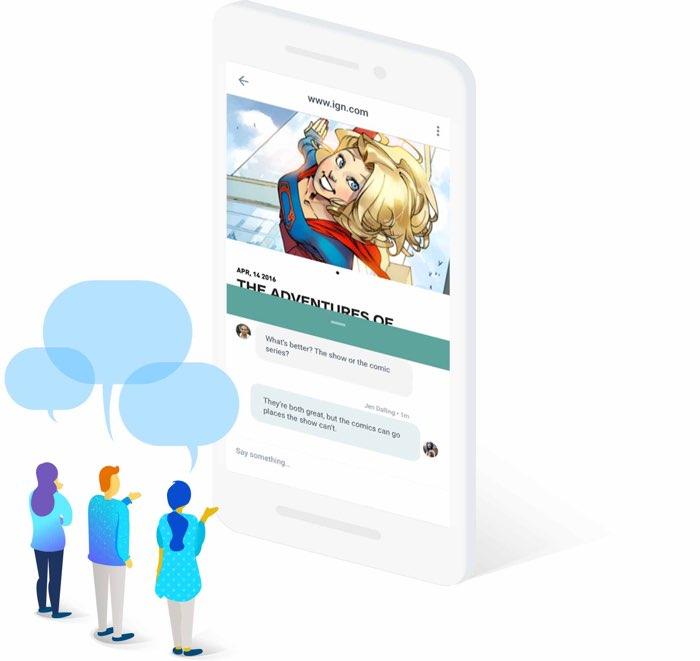 Google Spaces: een conversatie met anderen