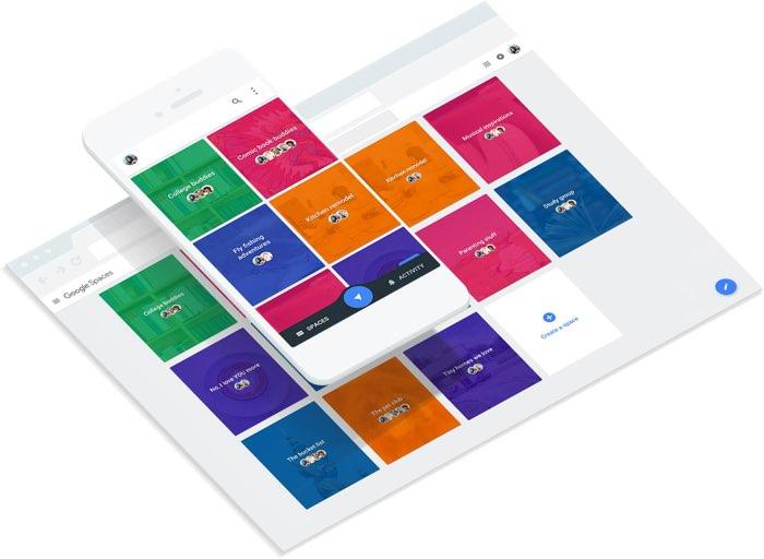 Google Spaces op iPhone en iPad