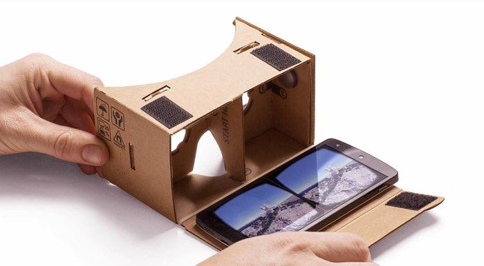 Google Cardboard vouwen