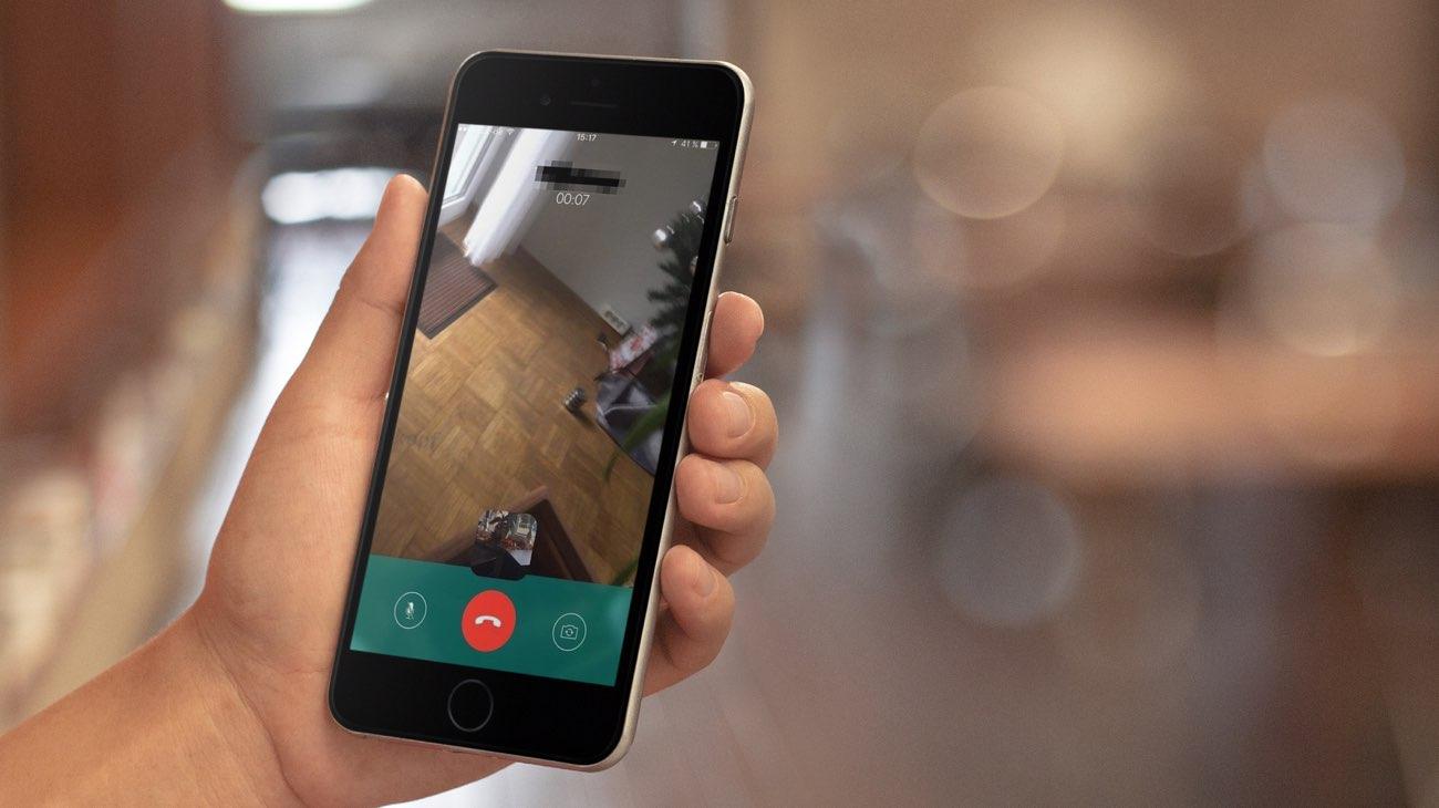 WhatsApp videobellen en videochat (iCulture copyright)