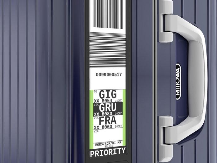 Rimowa elektronisch kofferlabel