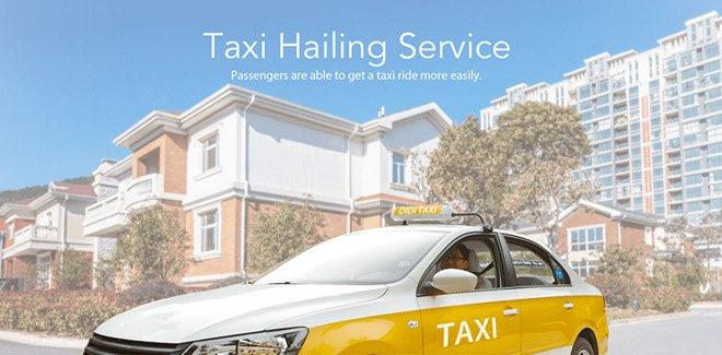 Didi taxibedrijf China
