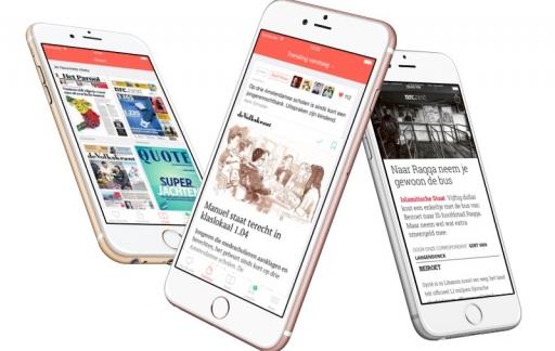Blendle: 3 iPhones met vernieuwde app
