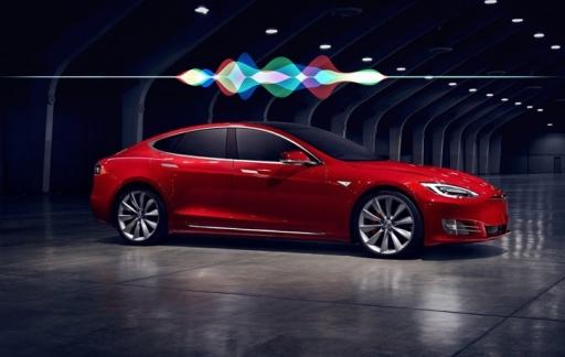 Tesla met Siri.