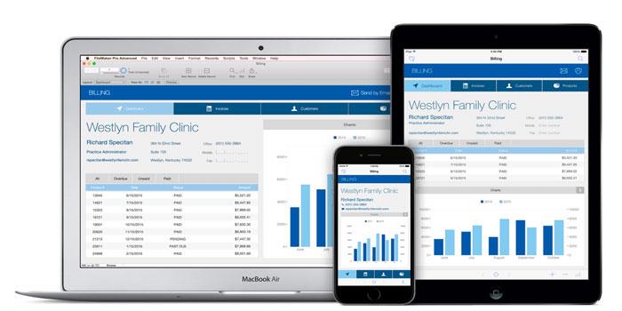 FileMaker 15 op iPhone, iPad en Mac