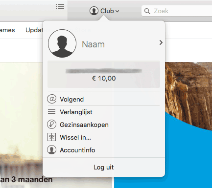 iTunes-betaalmethode wijzigen