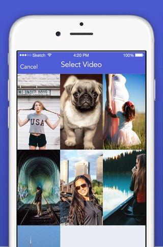 Slinger-app voor Snapchat
