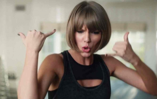 Taylor Swift in Apple Music-reclamefilmpje