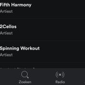 Spotify krijgt nieuwe navigatie met tabbar in plaats van hamburgermenu