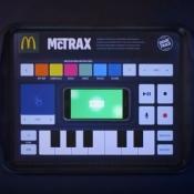 McTrax-placemat bij McDonald's werkt met je smartphone.