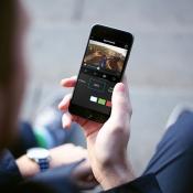 Splice van GoPro op een iPhone.