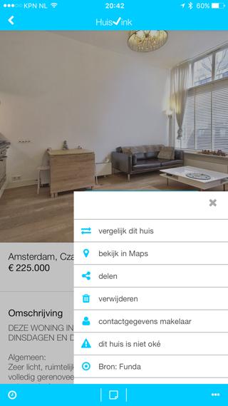Huisvink: opties bij een woning
