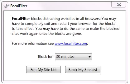 Focal Filter voor Windows