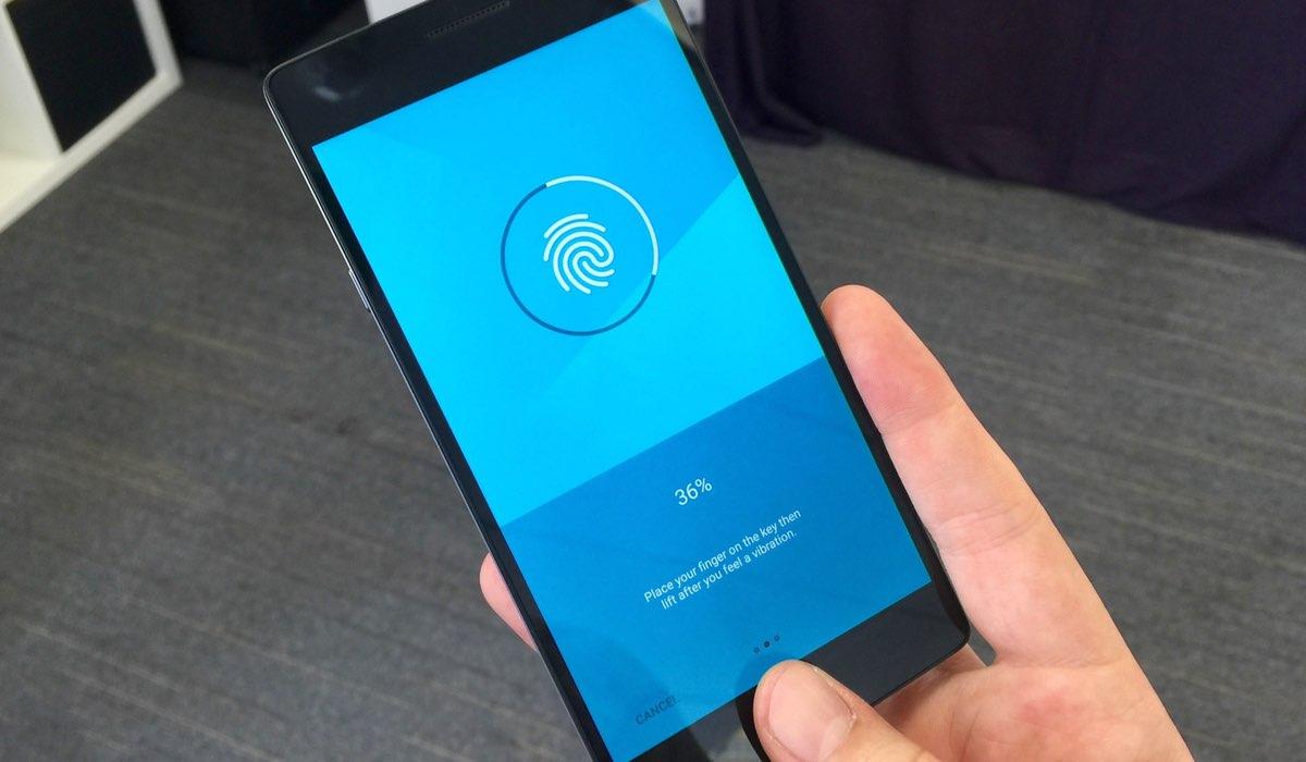 Vingerafdrukscanner Qualcomm Sense ID