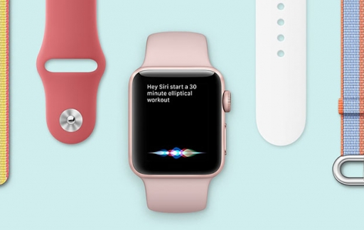 Apple Watch met Siri