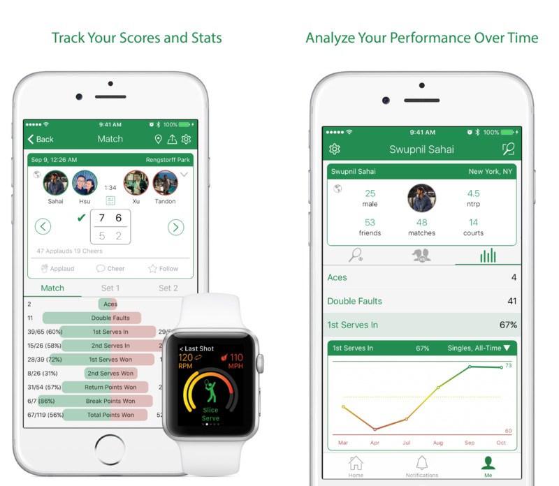 beste tennis apps voor iphone en ipad. Black Bedroom Furniture Sets. Home Design Ideas