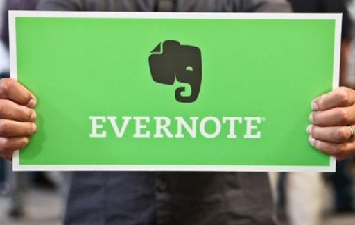 Evernote-bord