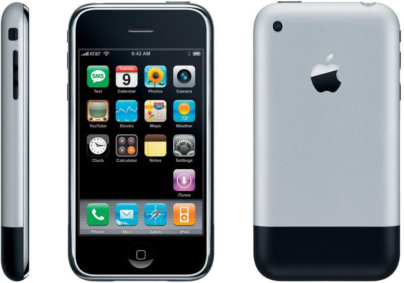 De allereerste iPhone