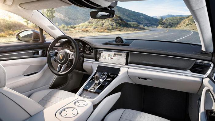 Porsche Panamera interieur