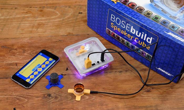 BoseBuild, onderdelen van de knutselkit