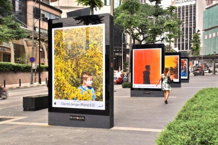 Shot on iPhone: kleurrijke foto's buiten