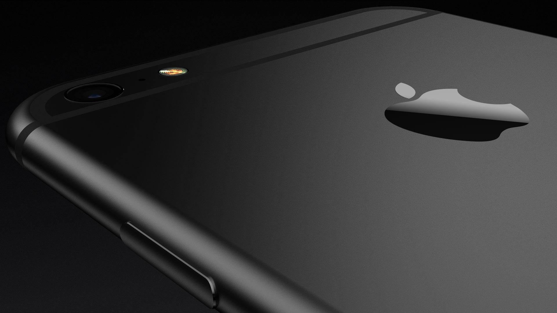 Zwarte iPhone 7