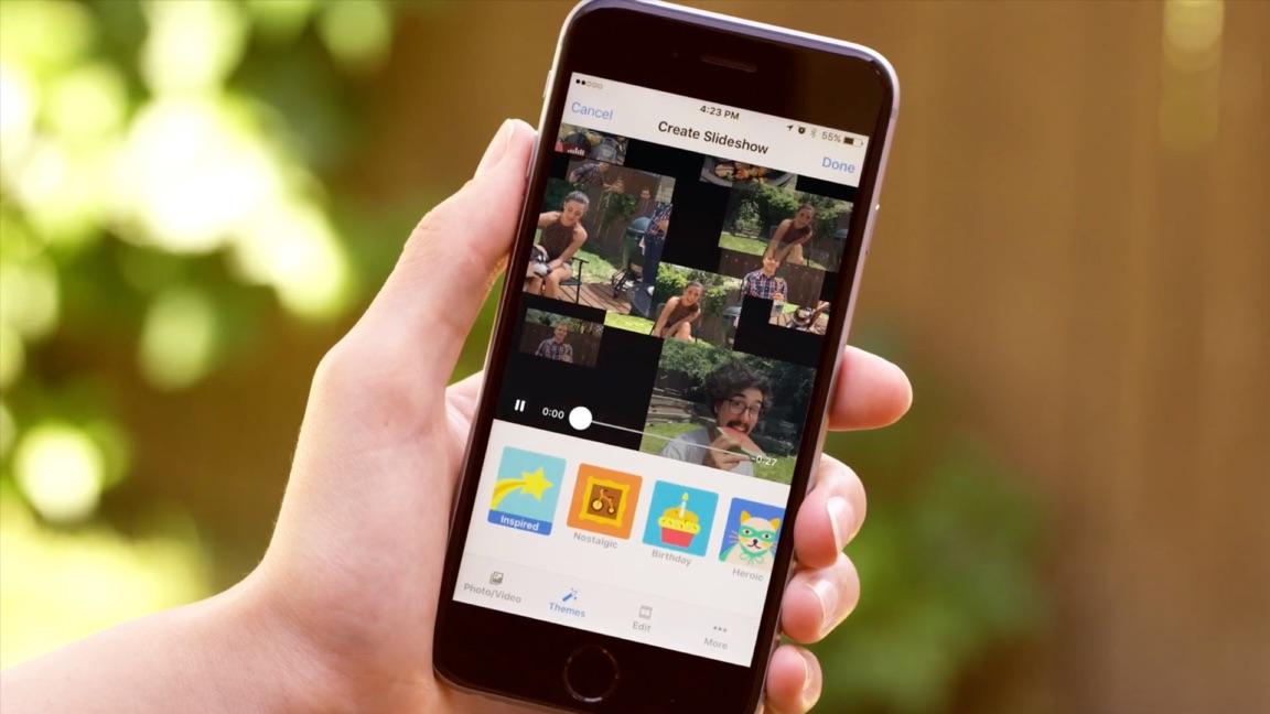 Facebook maakt nu een Slideshow met je foto's.