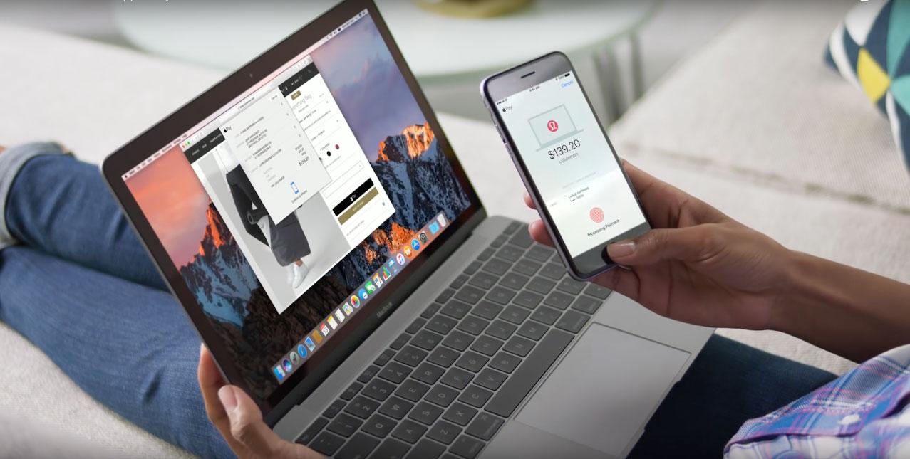 macOS Sierra: betalen met Apple Pay op de Mac