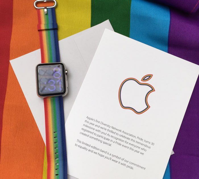 Apple Pride horlogebandjes