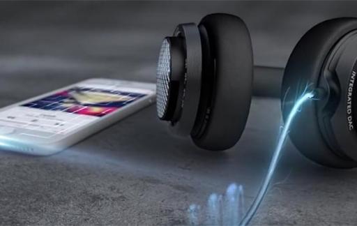 Philips Fidelio M2L Lightning-koptelefoon