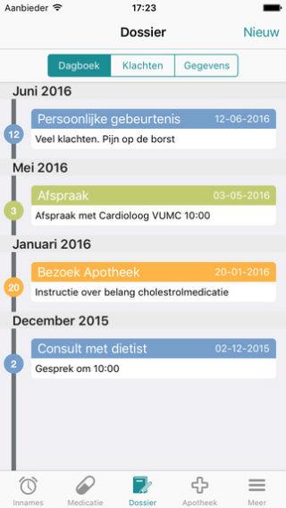 MedApp dossier