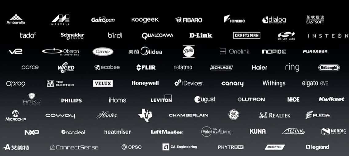 HomeKit-merken in iOS 10.