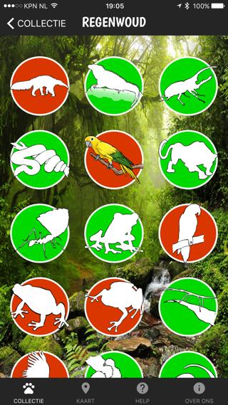 Perfect Earth, dieren om te verzamelen