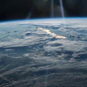 NASA-foto van de aarde.