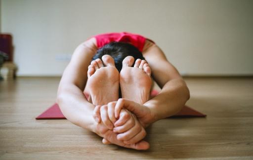 Yoga-meisje