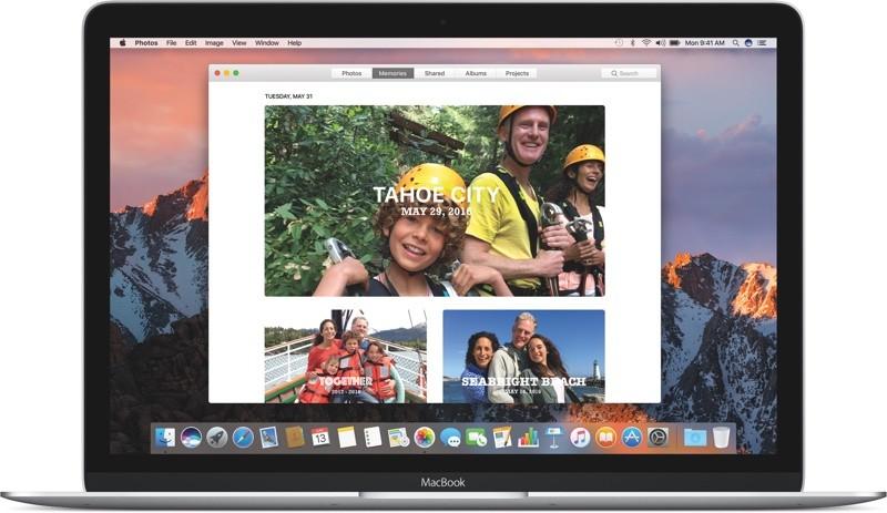 macOS Sierra Foto's-app