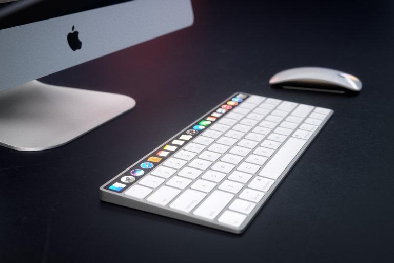 OLED-balk toetsenbord