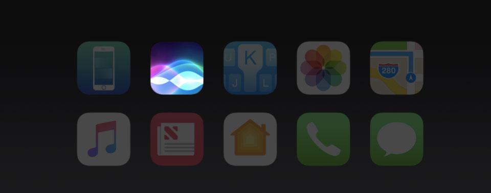 Siri in iOS 10